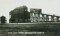 Great Northern Coal shed in south Crookston