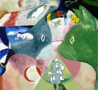 Chagall's Cats