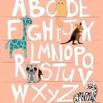 Coral Alphabet Prints & Posters