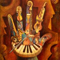 Musically Inclined Art Prints & Posters by Mary DeLave