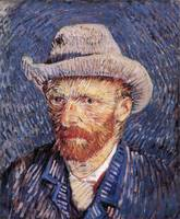 Vincent van Gogh's Self-Portrait with Felt Hat