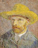 Vincent van Gogh's Self-Portrait with Straw Hat