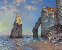 Claude Monet's The Cliffs at Etretat