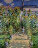 Claude Monet's Monet's Garden at Vetheuil