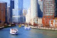 Chicago River Impression