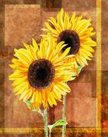 Sunflowers Decorative Painting