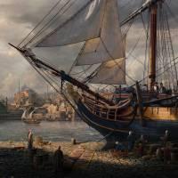 """Byzantine Shores"" by sareltheron"