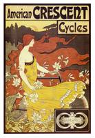Vintage poster - American Crescent Cycles