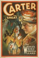 Vintage poster - Carter the Great