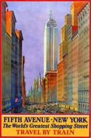 Vintage poster - Fifth Avenue