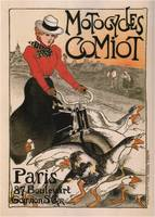 Vintage poster - Motocycles Comiot