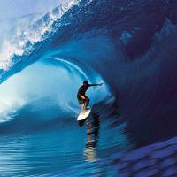 Big Wave Rider Art Prints & Posters by Spiritual Awakenings