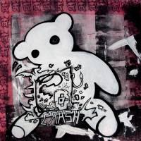 crash bear Art Prints & Posters by Art Bowers