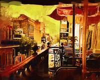 Balcony Cafe by Kirt Tisdale