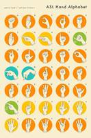 American Sign Language Hand Alphabet