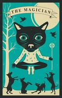 Tarot Card Cat - The Magician