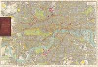 Vintage Map of London England (1910)