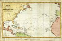 Vintage Christopher Columbus Voyage Map (1828)