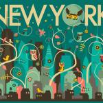 """Wild New York"" by JazzberryBlue"