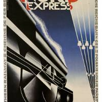 Vintage poster - Nord Express Art Prints & Posters by John Roper
