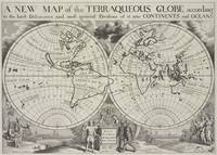 Vintage Map of The World (1700) 2