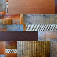 Reclaimed Wood Collage 3.0