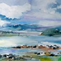 """Lake Champlain Islands"" by MaurieHarrington"