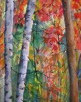 Two White Birches