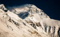 Mount Everest from Tibet Basecamp