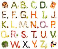 Kitchen Alphabet