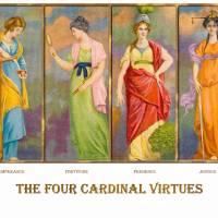 """""""The Four Cardinal Virtues"""" by Ekphrasis"""