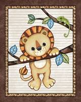 Lion in a Tree. Treetop Jungle Buddies Collection