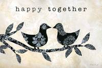 Black and White Happy Together Birds