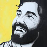 """""Joy "" Jesus Smiling ; Laughing"" by paintedchrist"