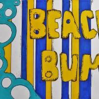 Beach Bum Art Prints & Posters by Holly Putman