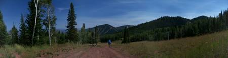 Mountain Panorama at Park City Resort by LH