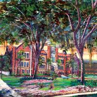 Florida State University - James D. Westcott Build Art Prints & Posters by Robert L Butler Jr