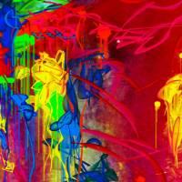 Dancing Graffiti Art Prints & Posters by Karsten Mouras