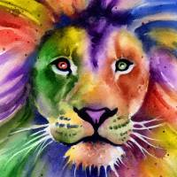 """Lion"" by k9artgallery"