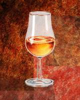 Glass Of Port Decorative Painting