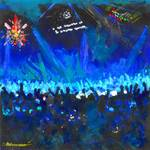 The Shiny Disco Ball - Blue by RD Riccoboni by RD Riccoboni