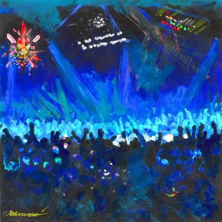 The Shiny Disco Ball - Blue by RD Riccoboni