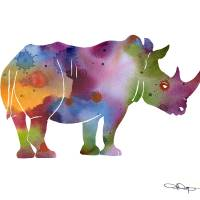 """Rhino"" by k9artgallery"