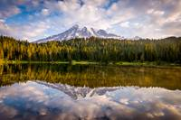 Mt Rainer at Reflection Lakes