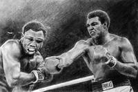 Thrilla in Manilla Pencil Drawing