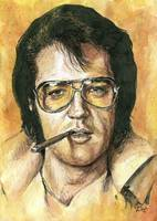 Smoking Elvis