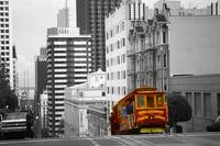 San Francisco Cable Car - Highlight Photo Art