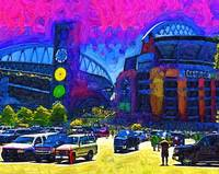 Seattle Century Link Stadium by Kirt Tisdale