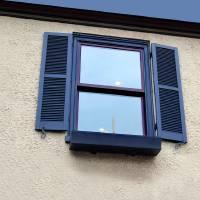 Blue Window by Karen Adams