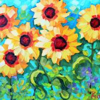 """Marthas Garden 1"" by PeggySueDavis"